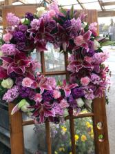 Standard Memorial wreath from Roma Florist Sympathy Arrangement from Roma Florist
