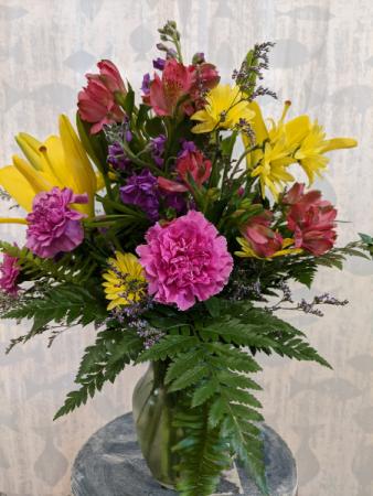 Standard Mixed Vase Arrangement