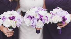 STANDARD ROUND BOUQUET PACKAGE BRIDESMAIDS BOUQUETS