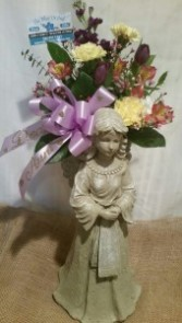 Standing Angel Arrangement Small
