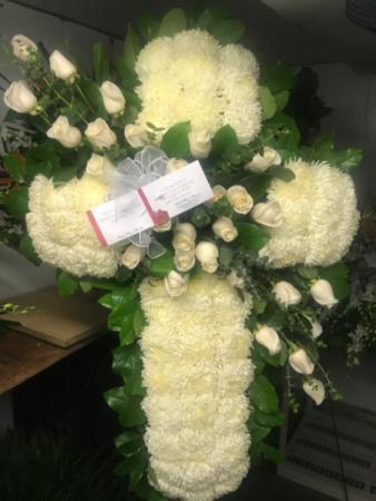 Standing Cross Funeral