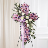 Standing Cross - Lavender