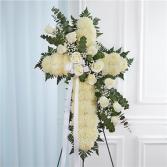 Standing Cross-White