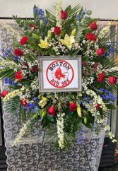 Standing Sports Memorial Funeral Sports Fan