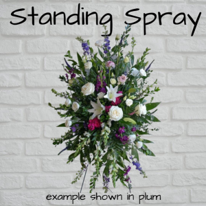 Standing Spray  in Warsaw, IN | Maple Avenue Flowers