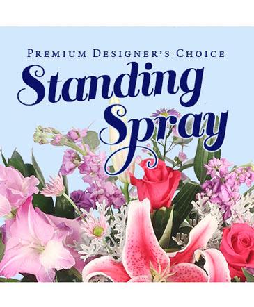 Standing Spray Florals Premium Designer's Choice