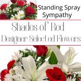 Standing Spray Red