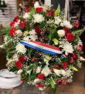 STANDING SPRAY WREATH Funeral Flowers