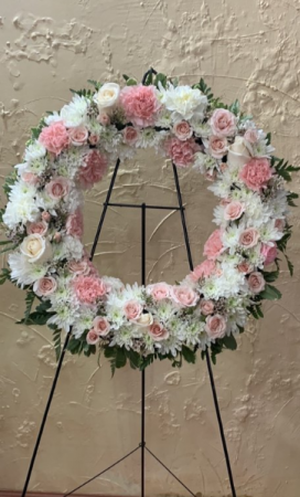 Standing Wreath Easel