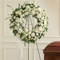 Standing Wreath Funeral Flowers