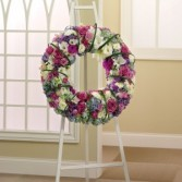 STANDING WREATHPRAYERS & MEMORIES