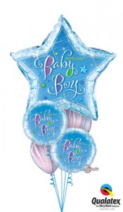 star baby boy balloons