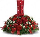 Star Bright Christmas Arrangement Christmas Flowers