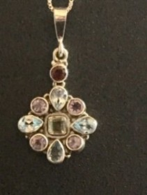 Star Pendant w/ sterling silver chain