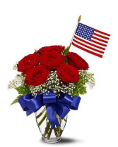 Star Spangled Roses Bouquet