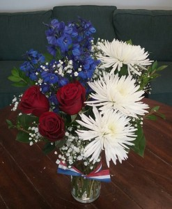 Star Spangled Style Bouquet in Bluffton, SC | BERKELEY FLOWERS & GIFTS