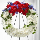 STAR SPANGLED WREATH WREATH