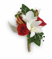 Star Studded Boutonniere HPR081A