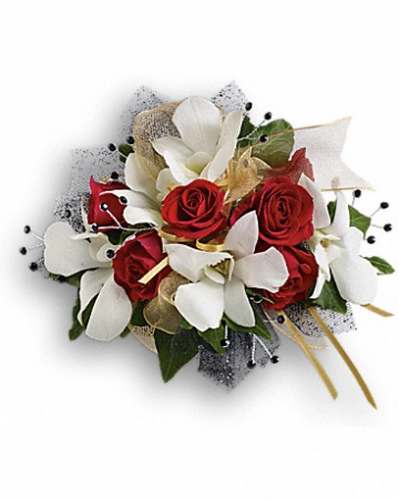 Star Studded Wristlette Prom Corsage