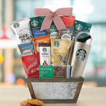 Starbucks Coffee and Tea Gift Basket Starbucks Coffee and Tea Gift Basket