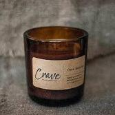 CRAVE AMBER GLASS CANDLE Candle