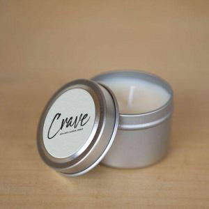 CRAVE TRAVEL TIN CANDLE Candle in Amelia Island, FL | ISLAND FLOWER & GARDEN