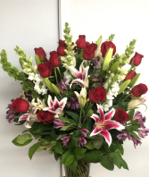 Stargazed fresh arrangement