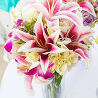 Stargazer Dream Bridal Bouquet