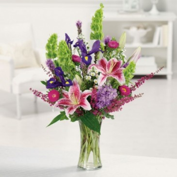 Stargazer Garden  Vase Arrangement