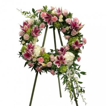 Stargazer LOVE Wreath