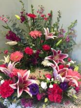 Stargazer Tribute Urn Wreath