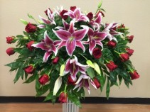STARGAZERS OF LOVE Casket Spray
