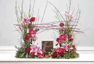 Stargazers & Twig Urn Piece Urn not included in Presque Isle, ME | COOK FLORIST, INC.
