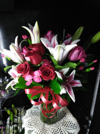 Stargazing Rose Bouquet Floral Arrangement