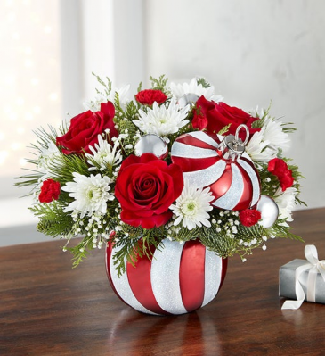 Starlight Starbright Ornament™ centerpiece arrangement