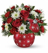 Starry Ornament  Holiday Bouquet