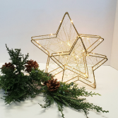 STARS!!! Battery operated ORNAMENT