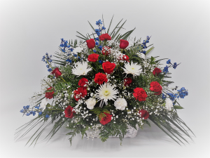 Stars N' Stripes Sympathy in East Templeton, MA | Valley Florist & Greenhouse