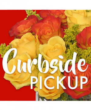 Curbside Pick Up Designer's Choice Arrangement in Granger, IN | Yellow Rose Florist