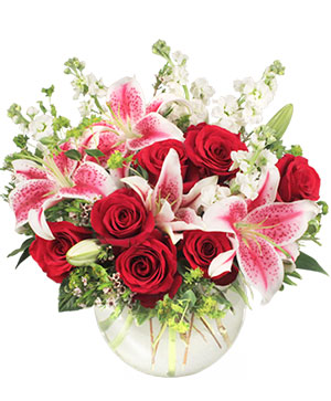 STARTS IN THE HEART Flower Arrangement in Ozone Park, NY | Heavenly Florist