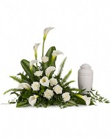 Stately Lilies  (Urn not Included) Funeral Arrangement