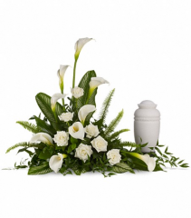Stately Lilies Memorial