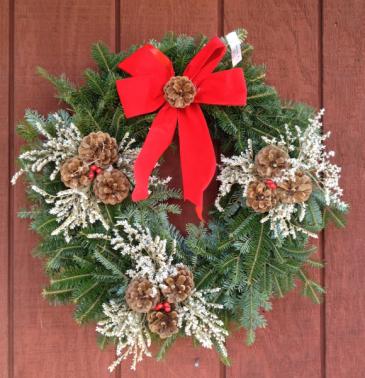 Statice Wreath W1