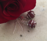 Sterling Caged Earrings