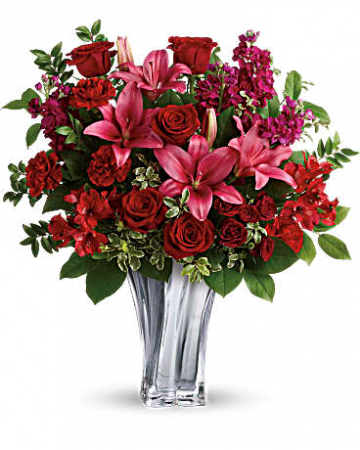 Sterling Love Bouquet Fresh Arrangement