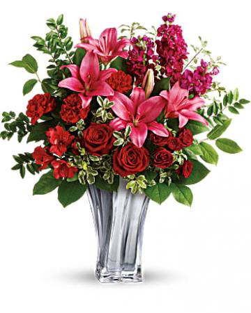 Sterling Love Fresh Floral Arrangement