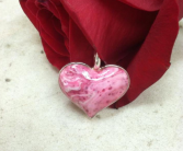 Sterling Silver Heart Bezel Pendant