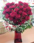 Heart FIlled with Love  Red Rose Heart Shaped Arrangement