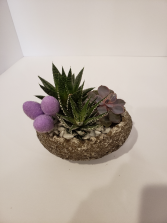 Stone Easter Egg Planter plant