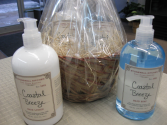 Stonewall Kitchen Hand Soap and Lotion Coastal Breeze Gift Basket